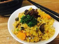 南瓜罗卜焖饭