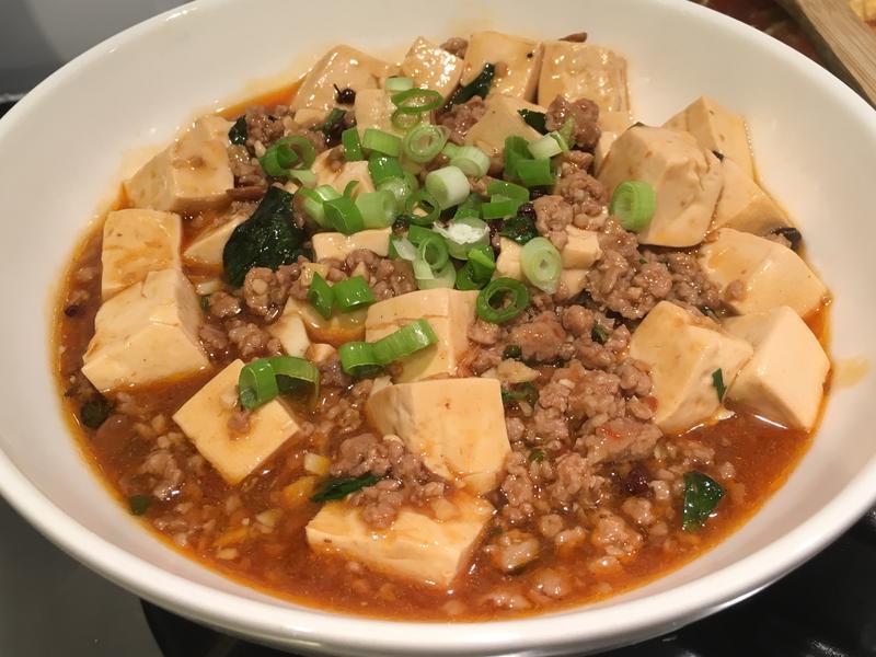 塔香麻婆豆腐*家常菜