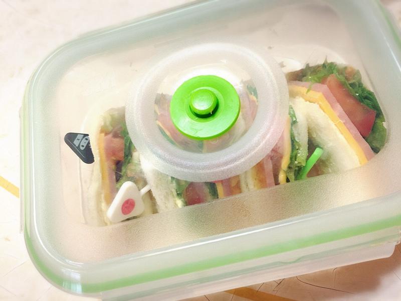 3M真空保鮮盒三明治