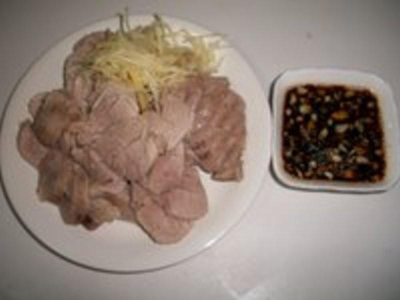 蒜泥腱肉(3人份)