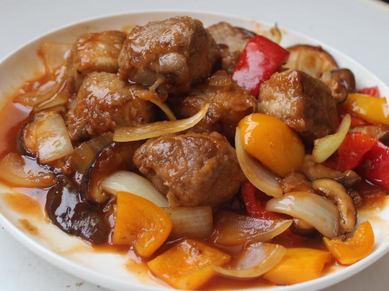 豬肉油豆腐燒