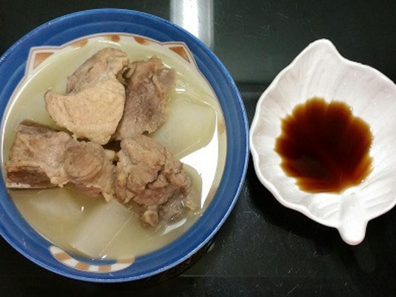 台糖安心豚龍骨-蘿蔔肉骨茶