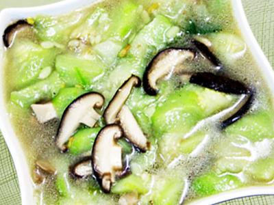 【厚生廚房】絲瓜香菇湯