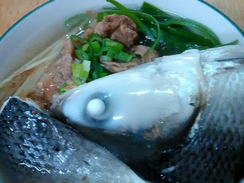肉燥虱目魚麵