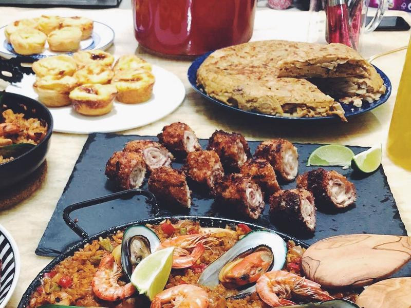 西班牙炸肉捲 Flamenquines