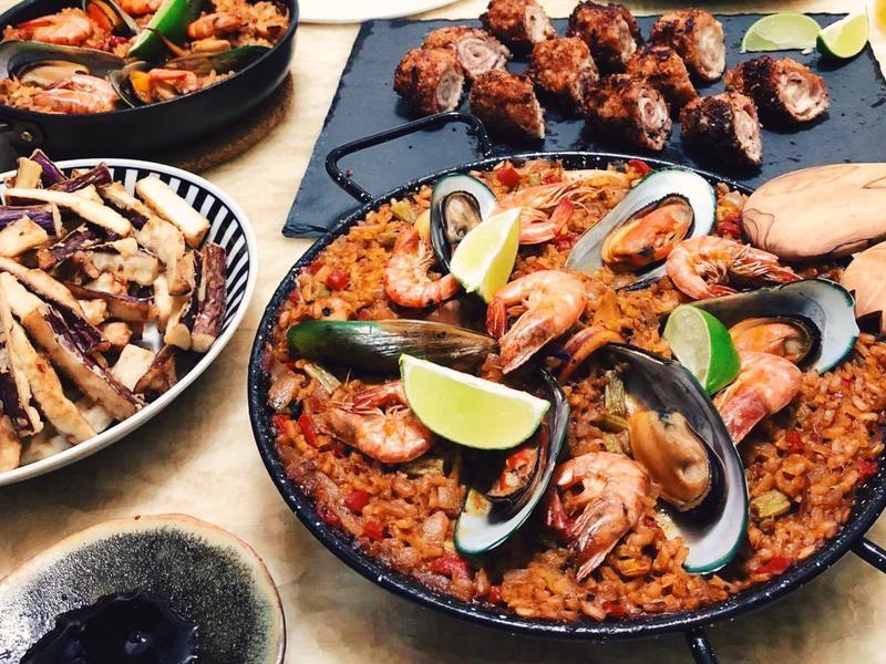 西班牙燉飯 Paella Mixta