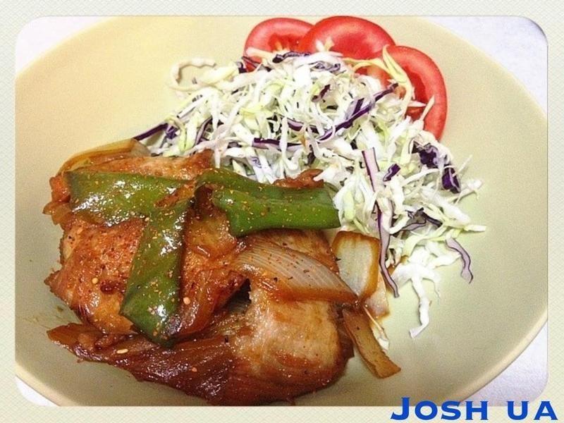 [ 日式 ] 豚肉の生姜燒き