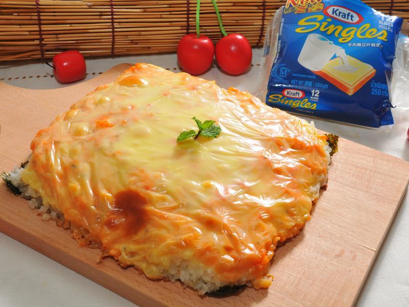 濃香龍蝦沙拉壽司披薩