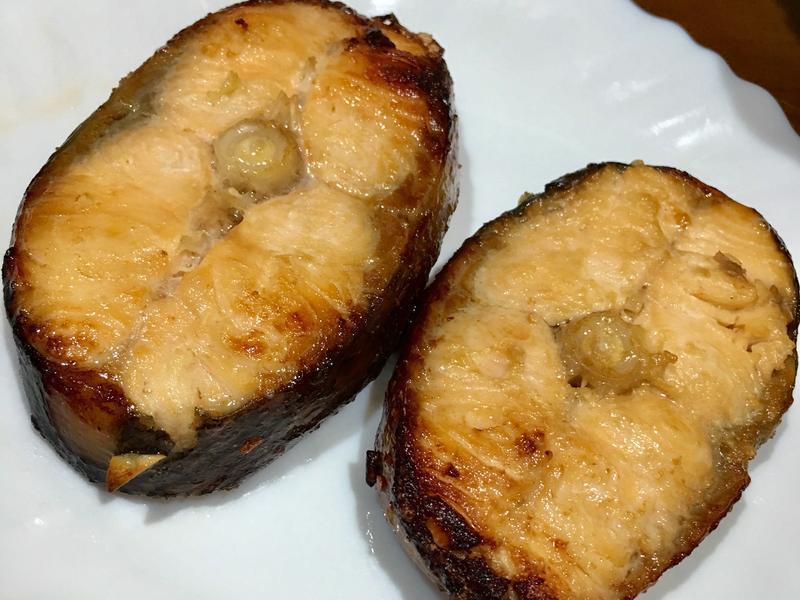 高蛋白「味增烤鮭魚」320卡
