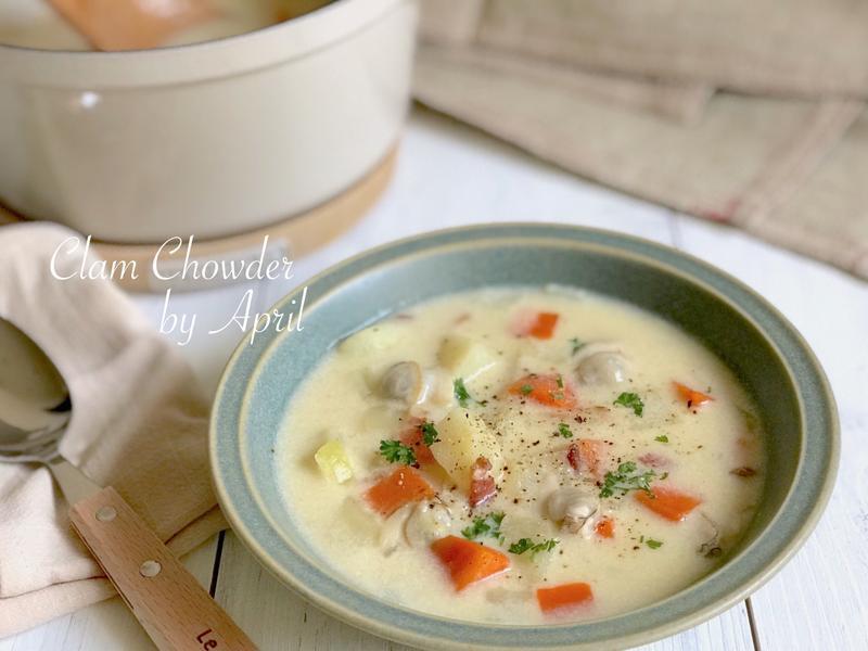 暖心的美味 蛤蜊巧達濃湯
