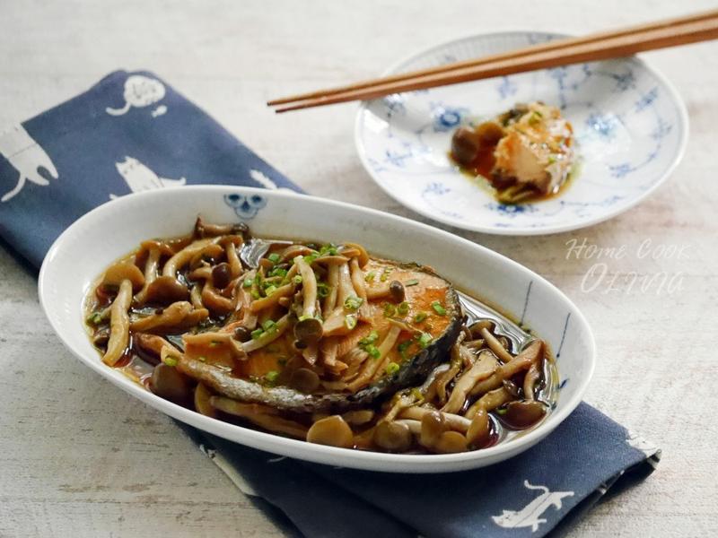 小廚娘❤和風鴻禧菇蒸鮭#電鍋
