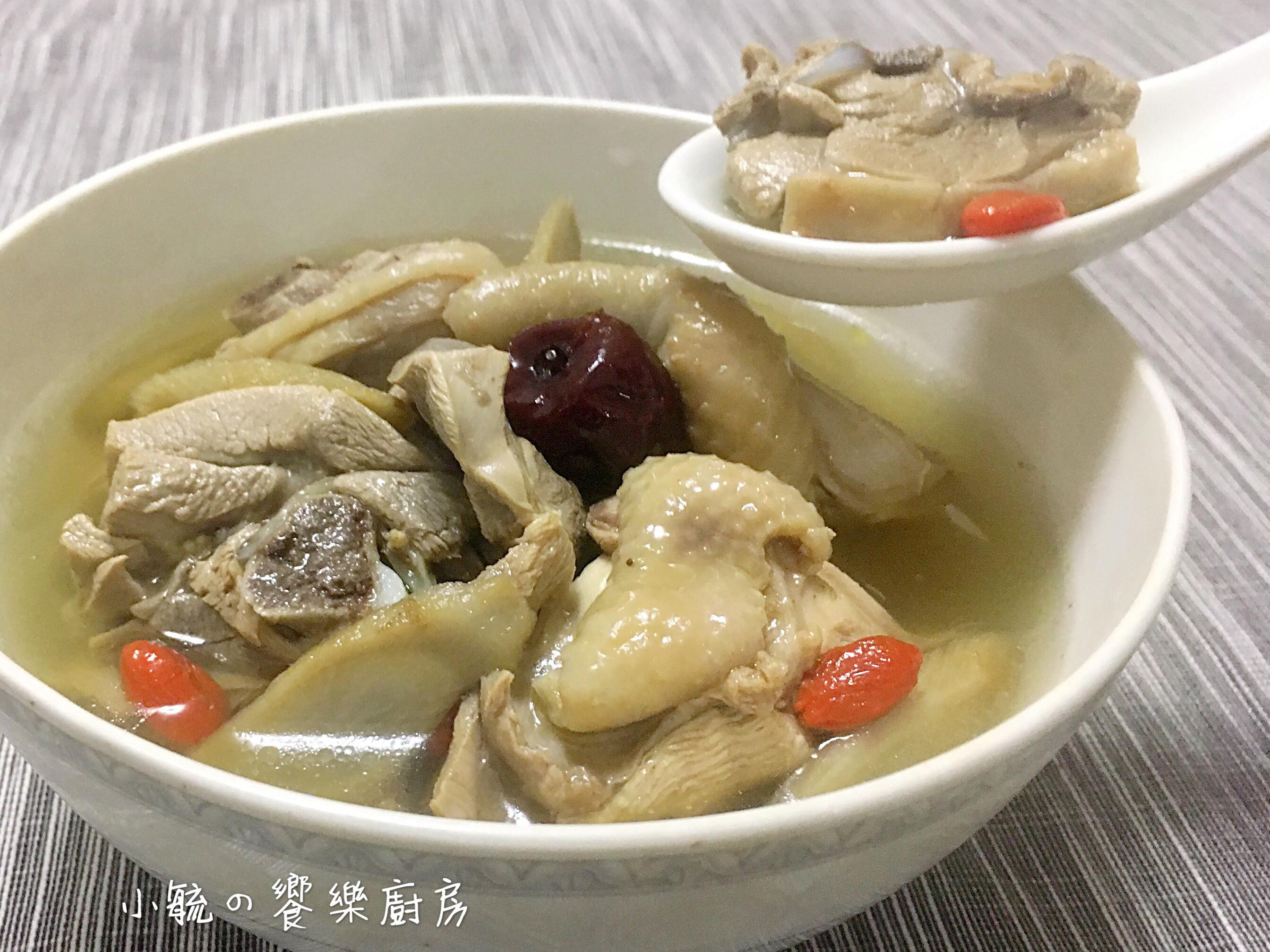 牛蒡雞湯  【電鍋料理】