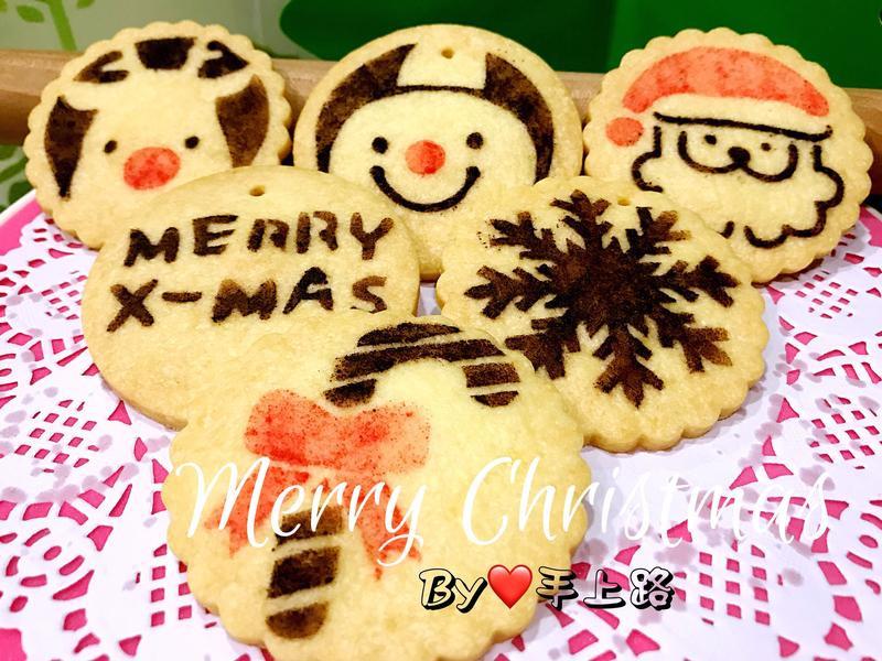 《應景聖誕》聖誕節印花餅乾