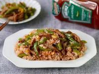 青椒肉絲炒飯