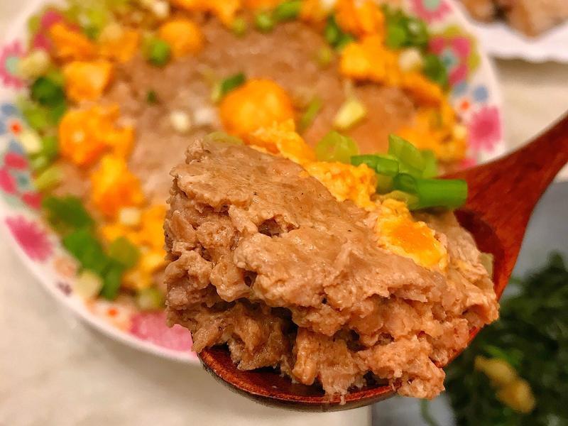 愛柴~鹹蛋蒸肉餅