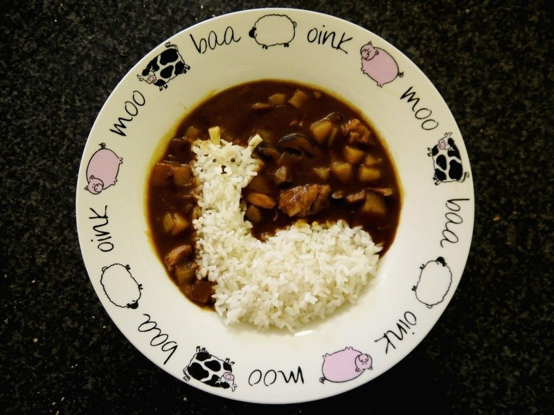 Alpaca Curry· 草泥馬咖哩飯