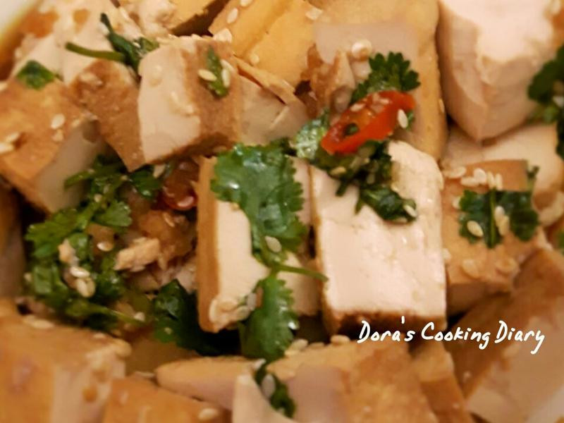 簡單涼拌油豆腐