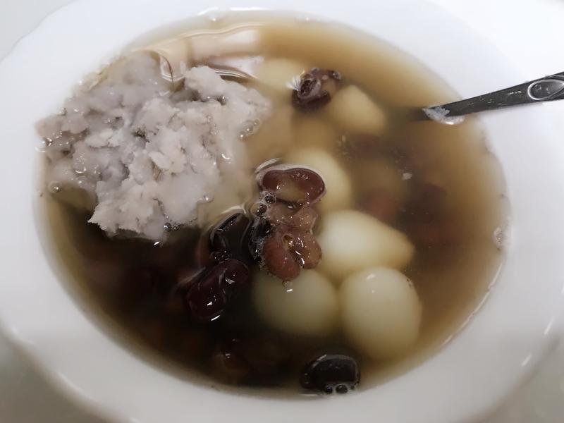 芋圓湯圓紅豆湯(素食可)