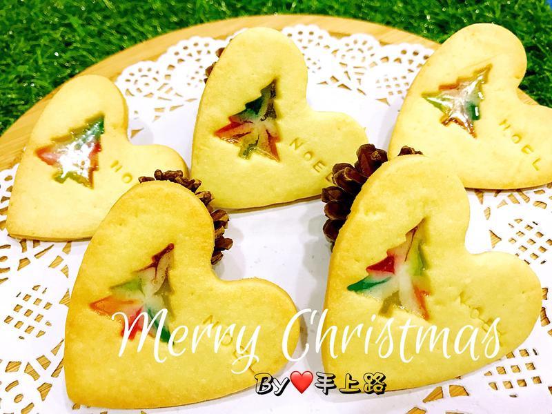 《應景聖誕》🎄聖誕樹造型玻璃餅乾
