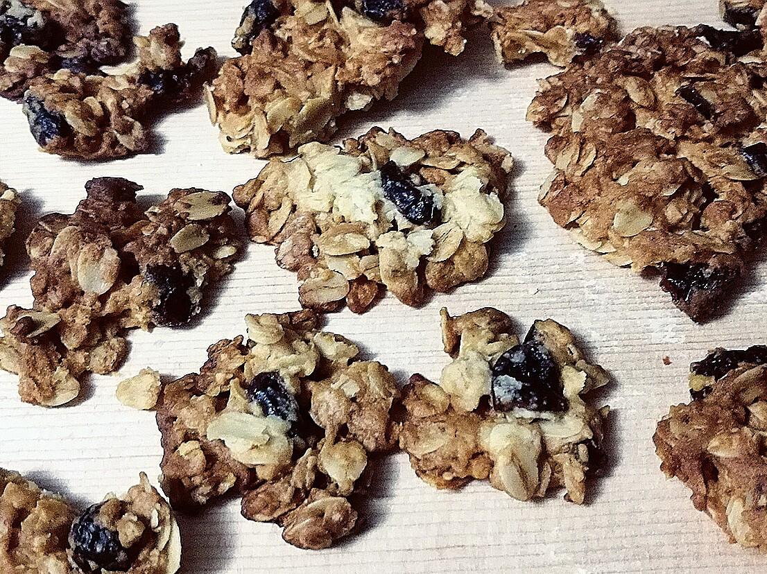 20分鐘上桌蔓越莓蜂蜜燕麥餅乾