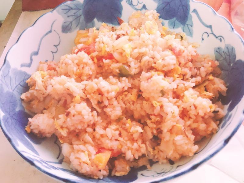 蕃茄蛋炒飯