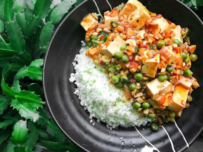 改良正宗麻婆豆腐飯