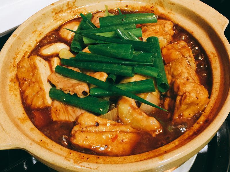 菱角豆腐燒