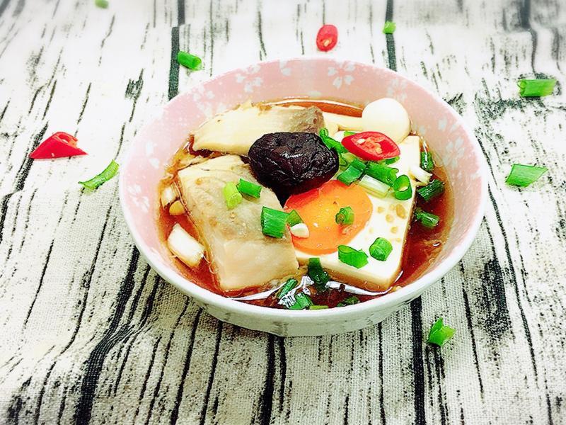 鯛魚豆腐煲(水波爐料理,電鍋料理)