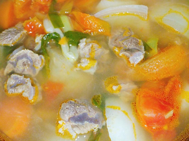 番茄清燉牛肉湯-電鍋版