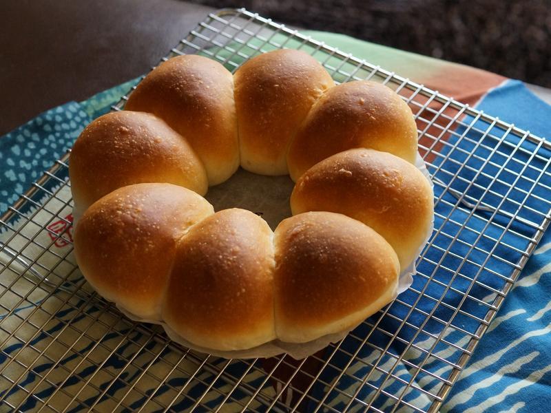 牛奶餐包(湯種法)