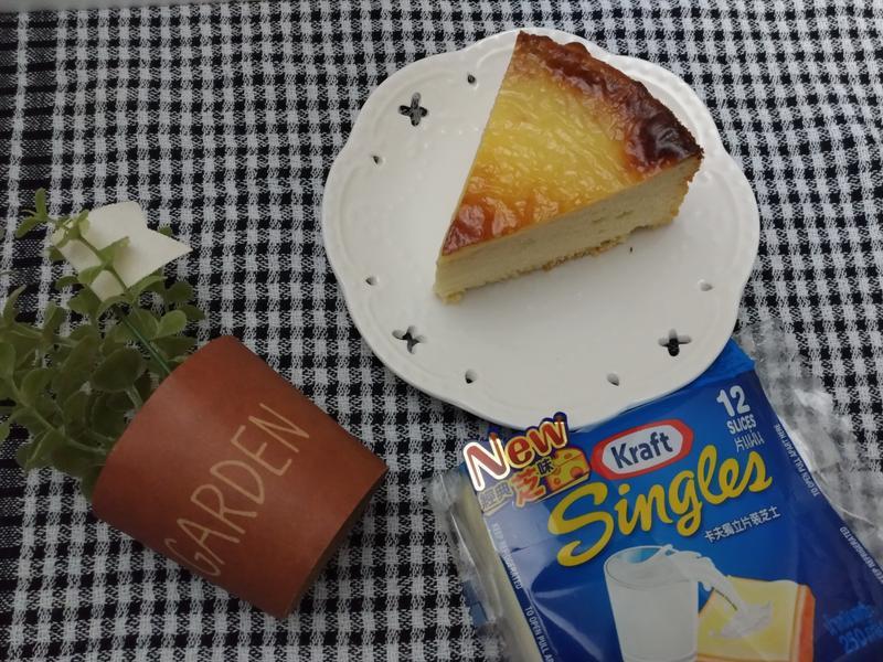 岩燒蜂蜜蛋糕-卡夫起司片