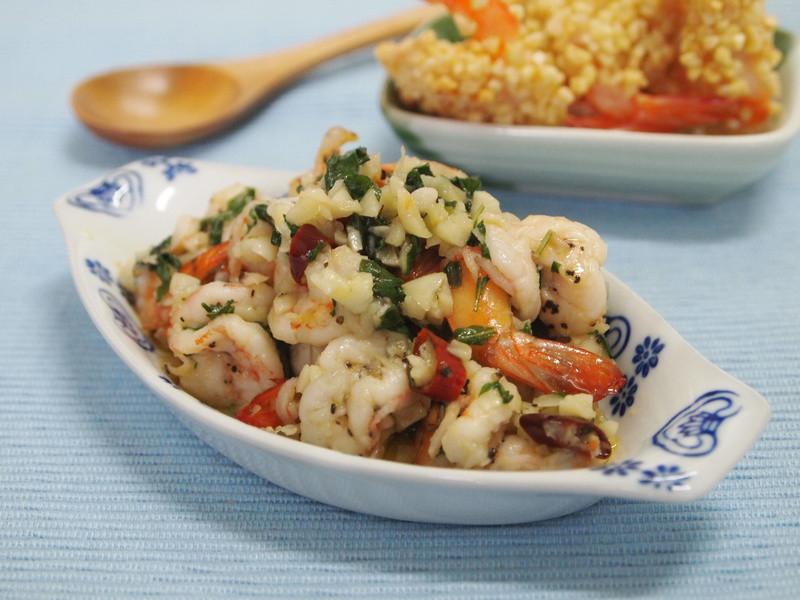 義大利蒜味蝦
