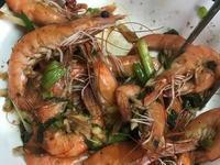 沙茶鮮甜蒜香炒蝦