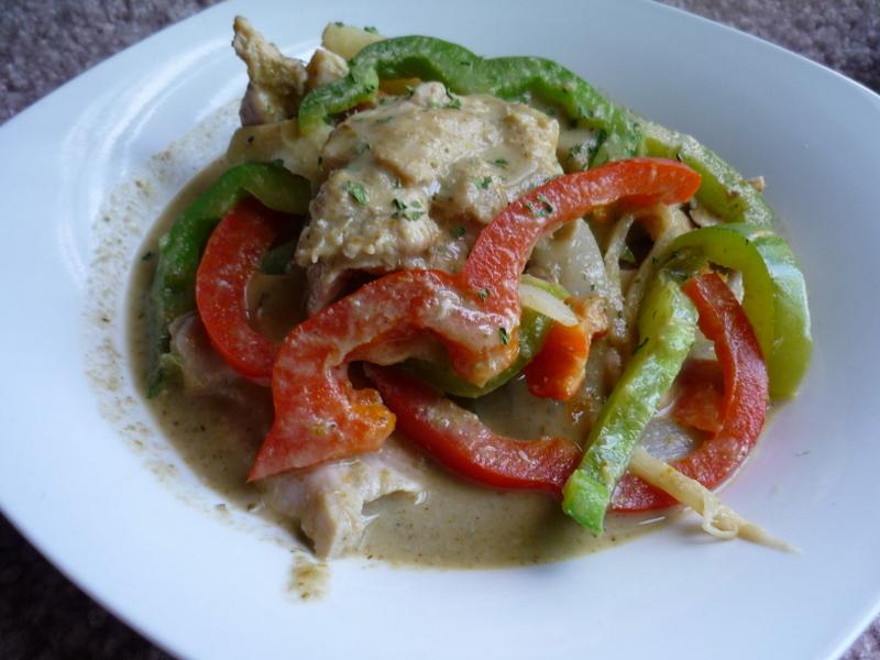 泰式綠咖哩雞肉