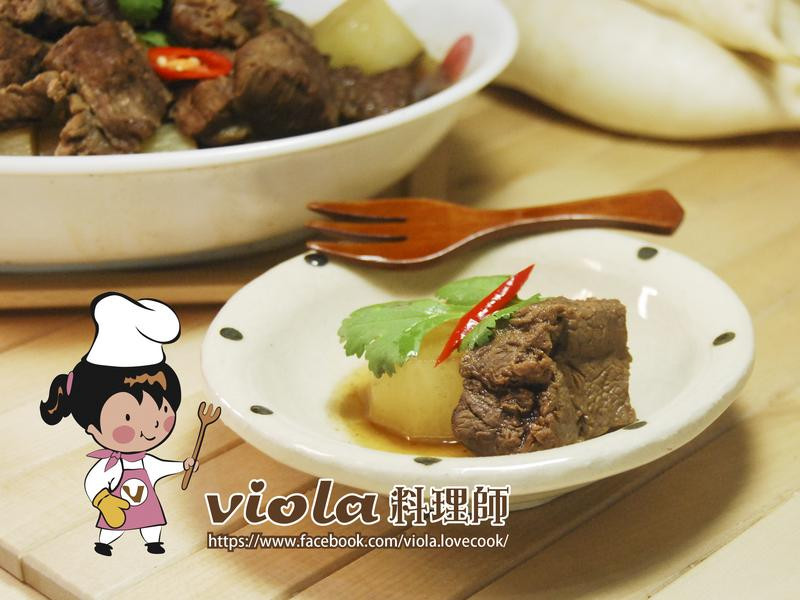 白玉蘿蔔燉牛肉