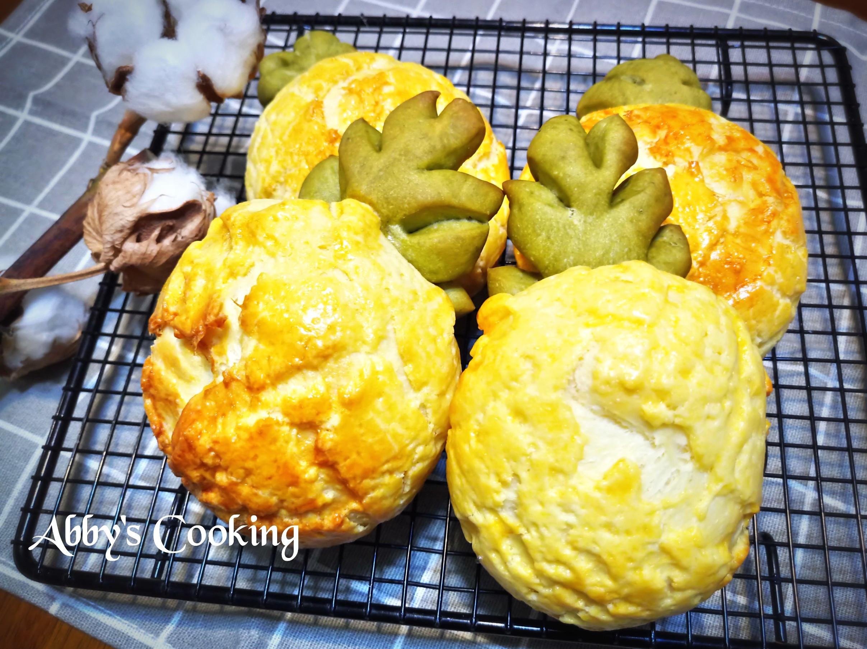 湯種鳳梨菠蘿麵包