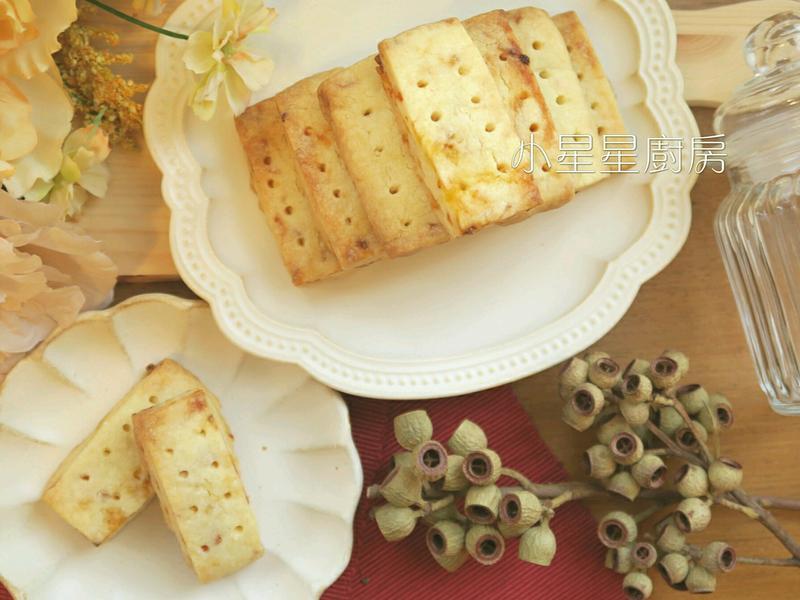 英式牛油酥餅(糖漬橙片口味)