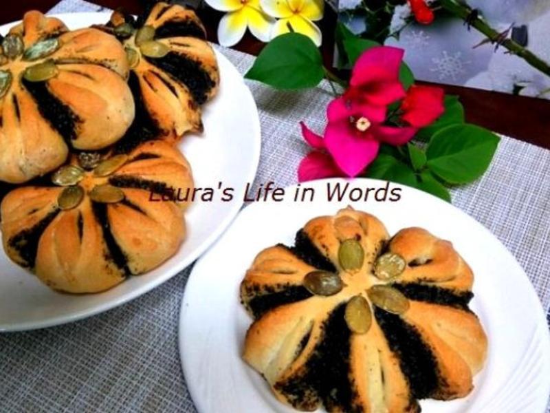 芝麻花麵包