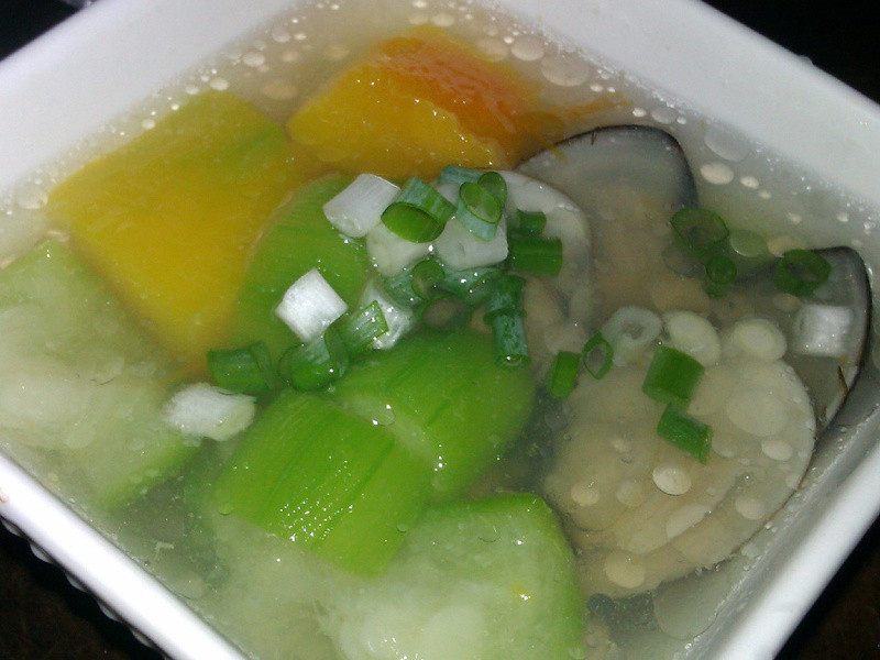 瓜瓜蛤蜊湯
