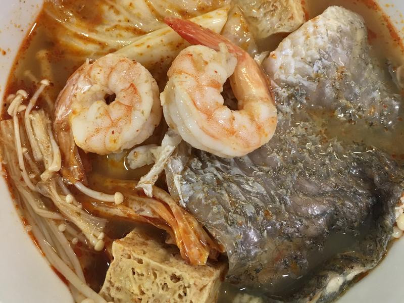 高蛋白「新加坡東炎海鮮鍋」455卡