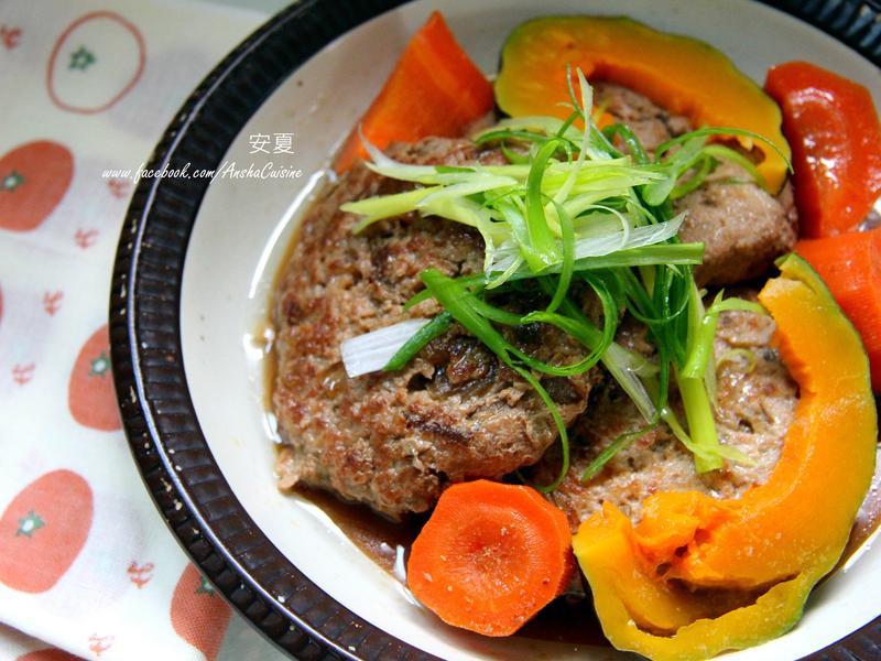 和風豆腐豬肉排