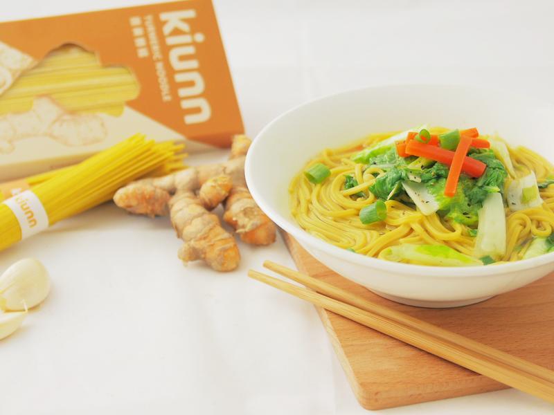 薑黃海鮮湯麵