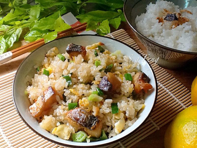 鯖魚蛋炒飯