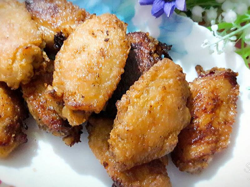 薑汁蜂蜜炸雞翅