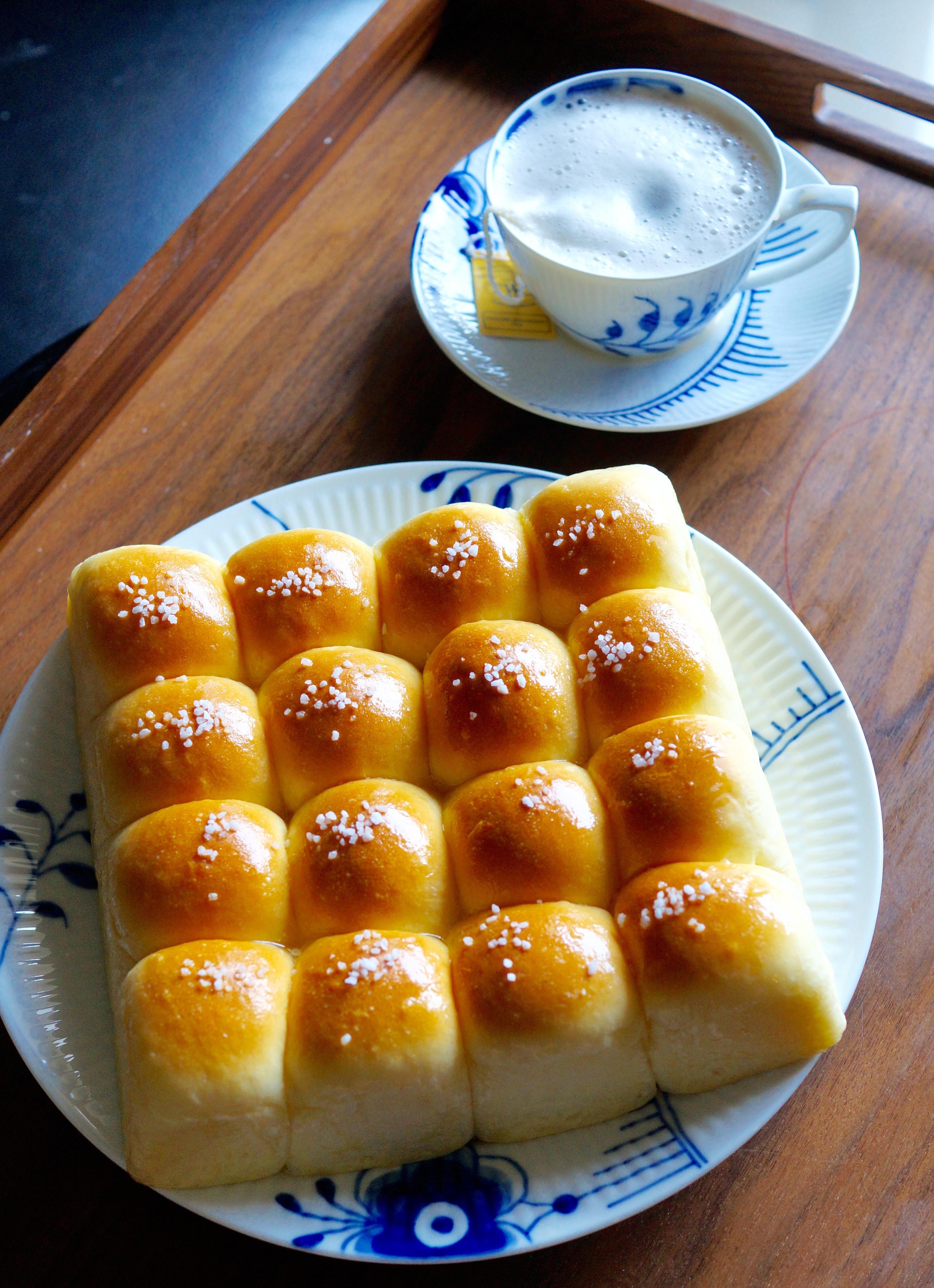 記憶裡的滋味:雞蛋牛奶小餐包
