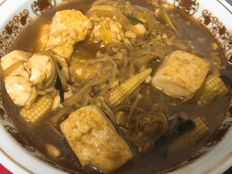 金針菇燒豆腐