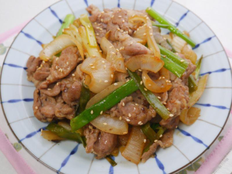 雙蔥燜豬肉