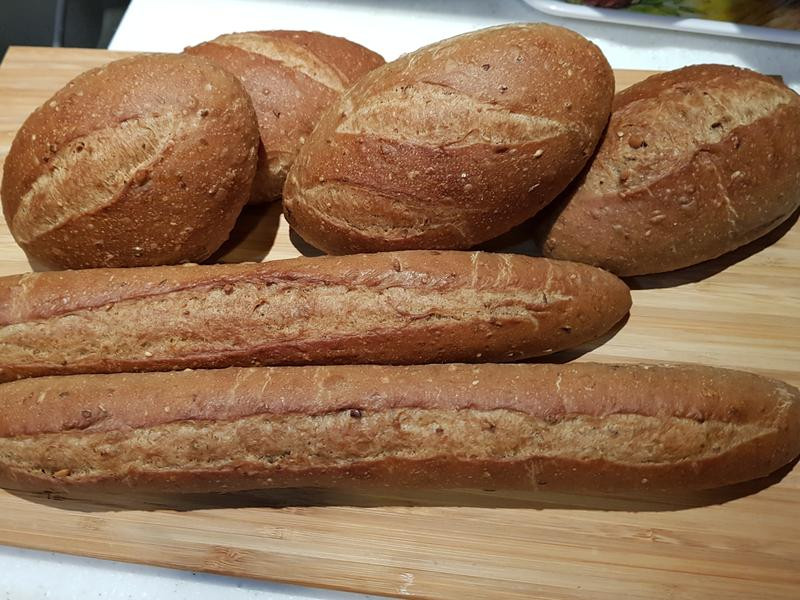天然酵母雜糧法式麵包