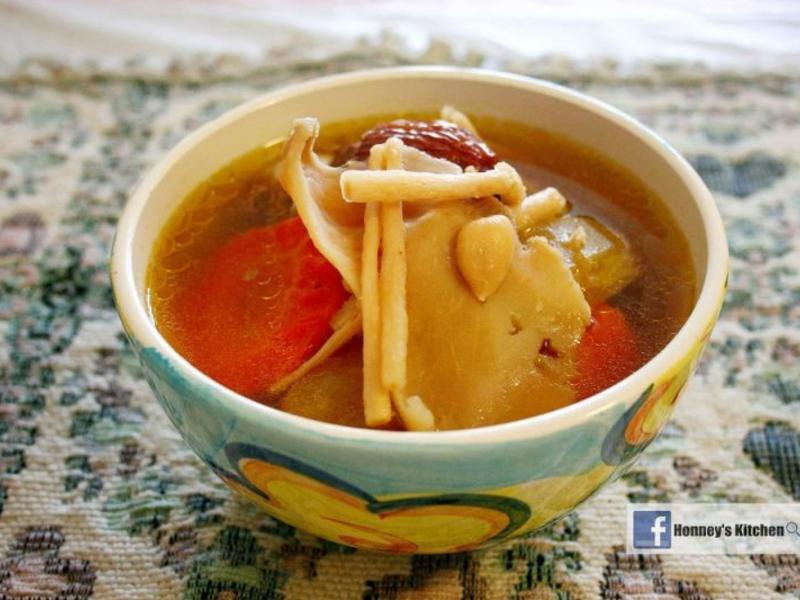 沙參玉竹紅蘿蔔佛手瓜湯