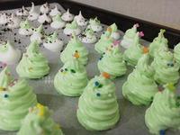 聖誕樹造型&歐力歐餅 蛋白糖霜
